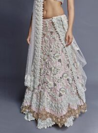 Nivedita Saboo Couture - Lightness - The Champagne Dream - Close