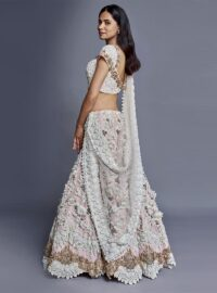 Nivedita Saboo Couture - Lightness - The Champagne Dream - Side