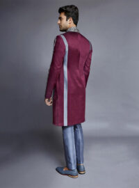 Nivedita Saboo Couture - Lightness - The Crimson Bloom - Back