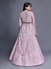 Nivedita Saboo Couture - Lightness - The Pink Flourish - Back