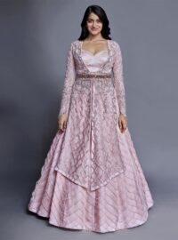 Nivedita Saboo Couture - Lightness - The Pink Flourish - Main