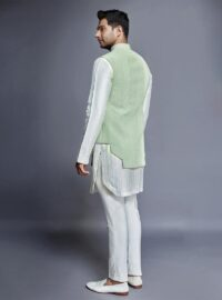 Nivedita Saboo Couture - Lightness - The Rustle of Spring - Back